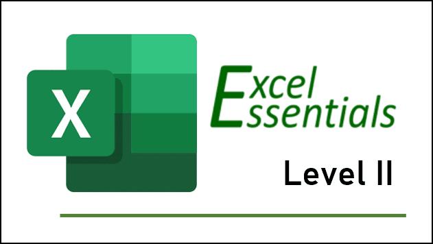 Excel Essentials Level 2 Training